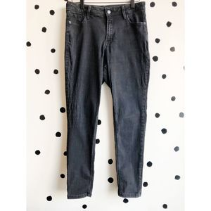 Old Navy Rockstar Skinny High Rise Black 10 Short